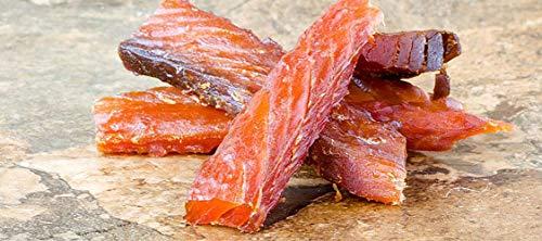 Wild Salmon Jerky , Kosher, PureSea, 4 oz each (Pack of 3)