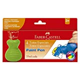 Tinta Paint Pen, Faber-Castell, 18.1601BB, Multicor