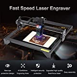 20W laser engraving machine, laser cutter cnc machine kits, precision engraving cutting, Desktop Laser Engraver 5000mW, USB connection, with laser protective cover, 41x40cm Large Engraving Area