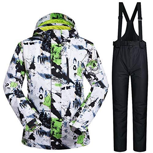 Shewt Skipak voor heren, waterdicht, winddicht, snowboard-jassen en broeken, set om te skiën, wandelen, klimmen, reizen, kamperen
