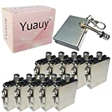Yuauy 10 Pcs Emergency Hiking Survival Camping Fire Starter Flint Metal Match...