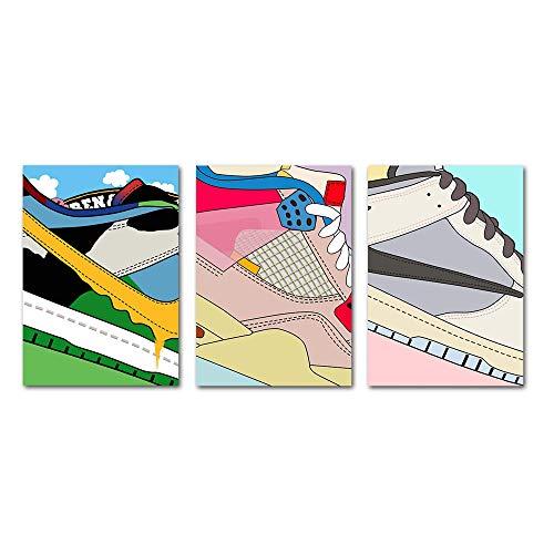 PENGDA Shoes Canvas Wall Art for AJ…