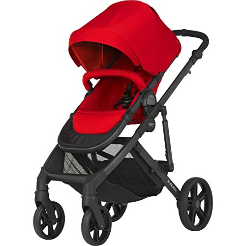 Imagen para Britax B-Ready - Silla de paseo convertible, color Flame Red