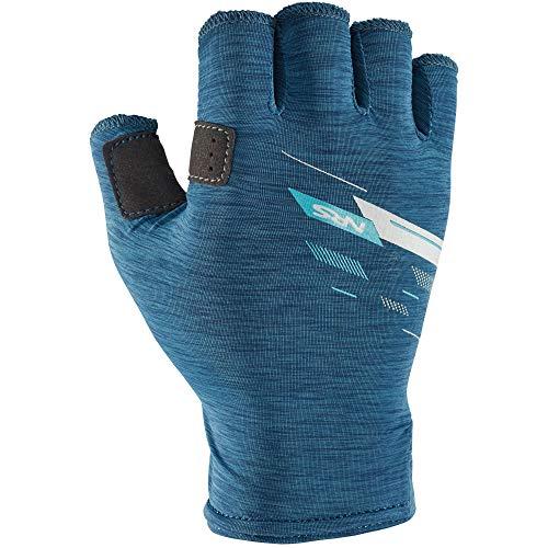 NRS Men's Half-Finger Boater's Gloves (Poseidon, Large)