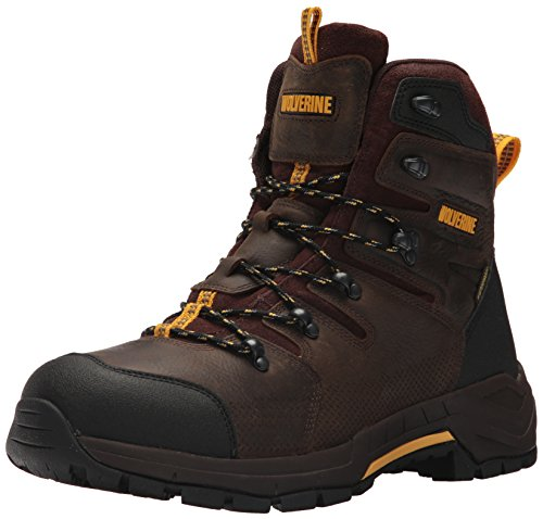 WOLVERINE Men's Contractor LX WPF Soft-Toe Construction Boot, Dark...