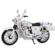 スカイネット 1/12 完成品バイク Honda CB750FOUR (K0) 白バイ