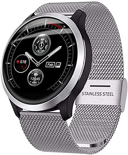 Reloj Inteligente IP67 Impermeable Hombres Y Mujeres Actividad Fitness Tracker Monitor De Ritmo Cardíaco Monitor De Sueño Pulsera Deportiva Para Ios Android-A