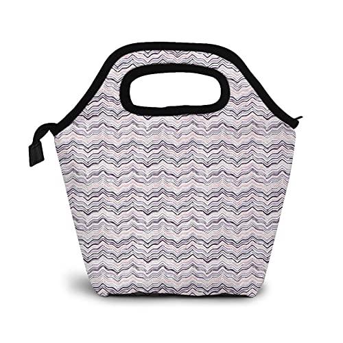 Bolsa Térmica Comida Bolsas De Almuerzo Para Mujeres Hombres Niñas Niños Bolsa Isotérmica De Almuerzo Rayas 85