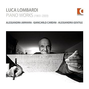 Luca Lombardi: Piano Works (1963-2003)