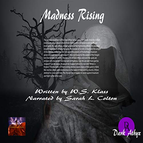 Madness Rising audiobook cover art