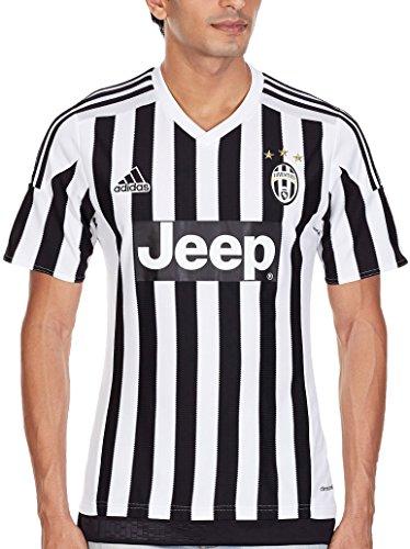 adidas Herren Trikot Juve H Jersey, White/Black, XS
