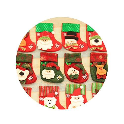 AieniD Spielzeug Weihnachtssocke Kamin Weihnachtsstrumpf Weihnacht Deko Kinder Rotschneemann