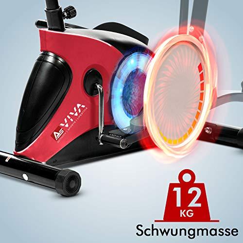 AsVIVA 2in1 C16 Crosstrainer Schwungmasse
