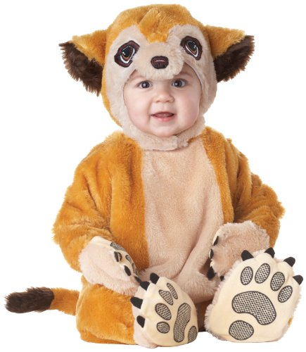 California Costumes Meerkat Infant Jumpsuit, Brown