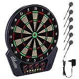 Elektronische Dartboards für Erwachsene, Dartscheibe Elektronisch Spiel, Soft Tip Dartboard-Set mit...