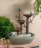 Bird Nest Table Top Fountain