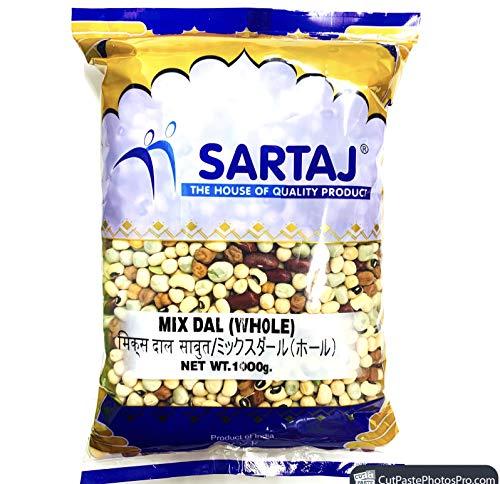 ミックスホールビーンズ サルタージ--1kg 乾燥豆 MIX BEANS WHOLE SARTAJ