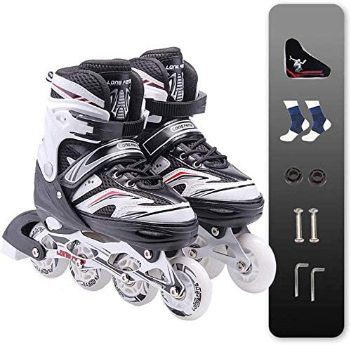 JYMBK Adjustable Inline Skates for Boys with Safe Lock OFFicial shop and OFFicial Girls