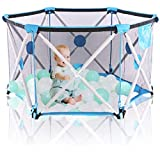 Hapsters Pop Up and Play Extra Large Baby Playpen for Baby - Foldable