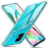 ivencase Cover per Samsung Galaxy A71 Trasparente, Custodie Crystal Ultra Thin Morbido Silicone...