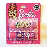 Barbie Due Pack Balsamo Labbra Sapori Dolci