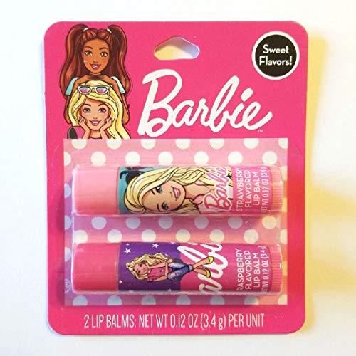 Bálsamo labial Barbie Dos Pack Sabores dulces