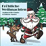 Fröhliche Weihnachten - Malbuch für Kinder - Fröhliche Muster