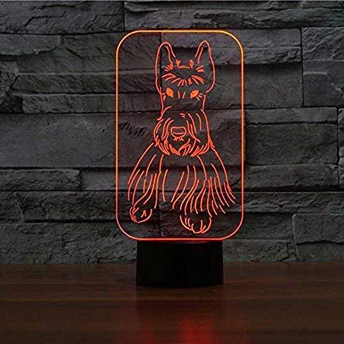 Gaming Accessoires voor Bureau Nacht Licht Woonkamer Decoratieve Lamp 3D Led Nachtlampje Chinese Mythische Hybrid Creature Chimera Geld Krachtige Beschermer Dier met Afstandsbediening 3D