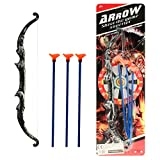 Wühelwelt (54081, Set of 6 Arrow And Bow Set, Action Set, 4 Pieces, Arrows, Archery, Cowboy And Indian Game