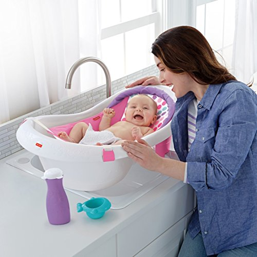 Fisher-Price 4-in-1 Sling 'n Seat Tub, Pink