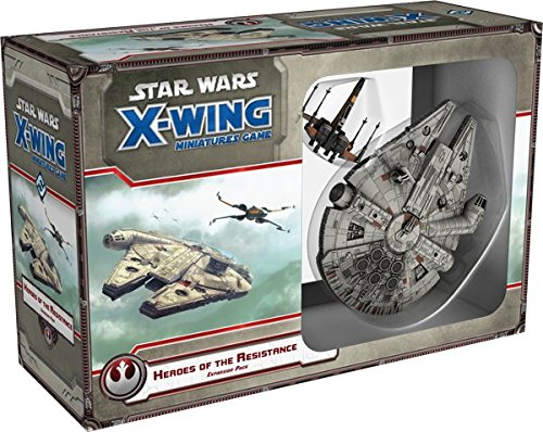 Fantasy Flight Games FFGD4028 Star Wars: X-Wing-Helden des Widerstandes Spiel