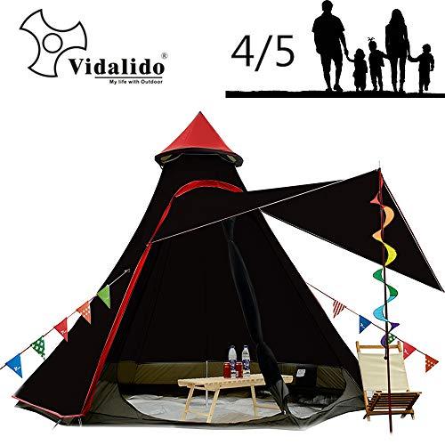 Vidalido Anti-UV Dome All Season Camping Tent