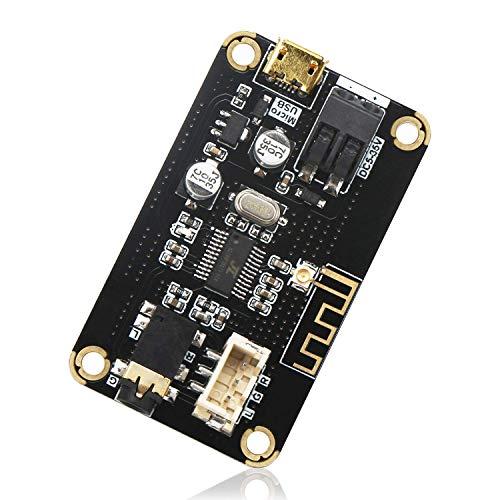 DollaTek Modulo di Ricezione Bluetooth, Scheda di Ricevitore Audio Stereo Bluetooth Portatile AS1711BT DC 5-35V Modulo di Elettronica Chip di Elettronica Wireless per Cuffie Fai-da-Te Home Stereo