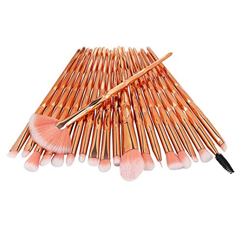 20 stucke Make-Up Pinsel Set Lidschatten Foundation Powder Eyeliner Wimpern Lip Make-Up Pinsel Blending Kosmetik Beauty Tool Kit