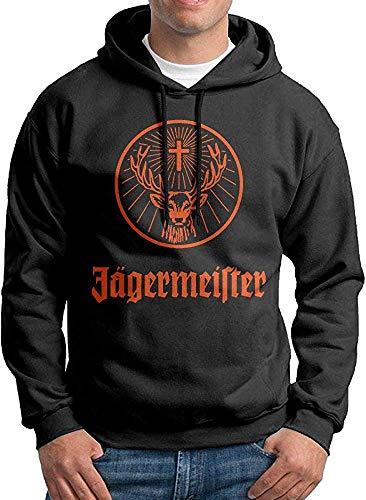 weande Das populäre Promi-Kapuzenpulli der Männer Jägermeister-Logo