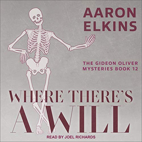 Where There's a Will Audiobook By Aaron Elkins cover art