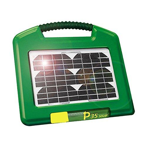 Solare energizzante P35 con integr. pannello solare w 2,6 e 12V/7 Ah gel-cell batteria - 140400