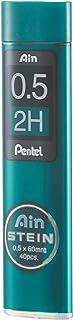 Pentel Mechanical Pencil Lead, Ain Stein, 0.5mm, 2H (C275-2H)