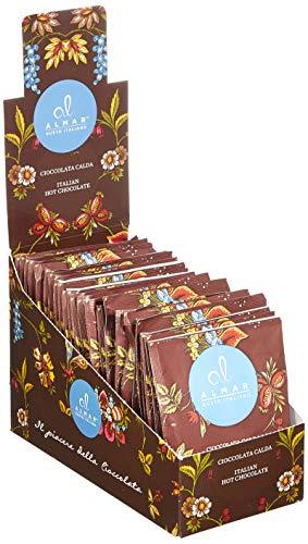 Almar  italienische heiße Schokolade Cortina ZABAGLIONE Geschmack - (25x30 g) Einzeln Portionsbeutel, 750 g