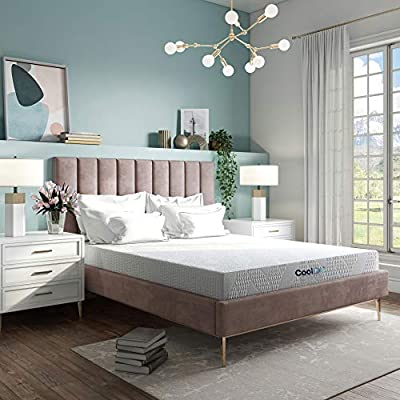 Classic Brands Cool Gel Memory Foam 7-Inch Mattress   CertiPUR-US Certified   Bed-in-a-Box, King