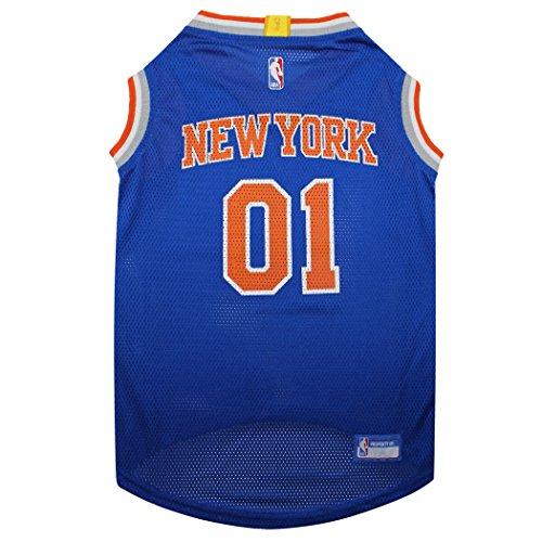 Camiseta NBA NEW YORK KNICKS Dog, pequena, camiseta regata de basquete para animais de estimação
