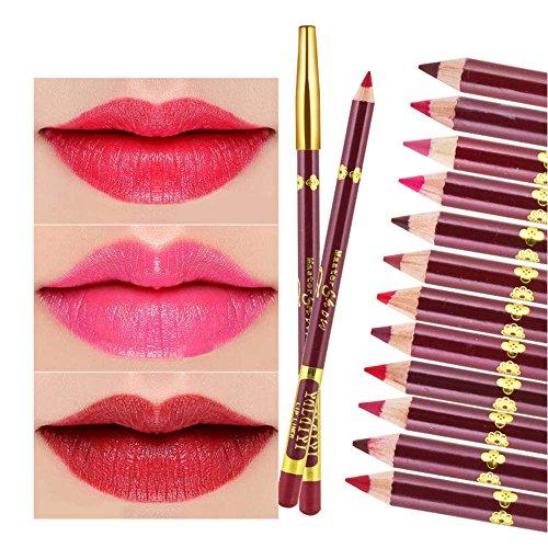 AKAAYUKO 1PCS Crayons à lèvres Beauté et Maquillage -#5