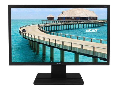 Acer UM.HV6EE.009 V6 Series 27 inch Widescreen Professional LED LCD Monitor - Black