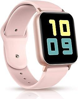 Smart Watch per Woman/man, Orologio Bluetooth Fitness Tracker con Cardiofrequenzimetro Contapassi Activity Tracker Promemo...