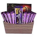 SFU E Com Dairy Milk Crackle for Diwali Gift | Dairy Milk Chocolate Basket | Chocolate Gift Hamper...