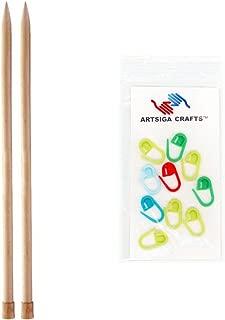 Wright Products Jumbo Plastic Knitting Needle Pair 14-Size 19//15mm