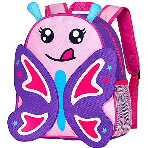 Toddler Backpack Leash, 9.5' Safety Harness Butterfly Bag - Removable Tether