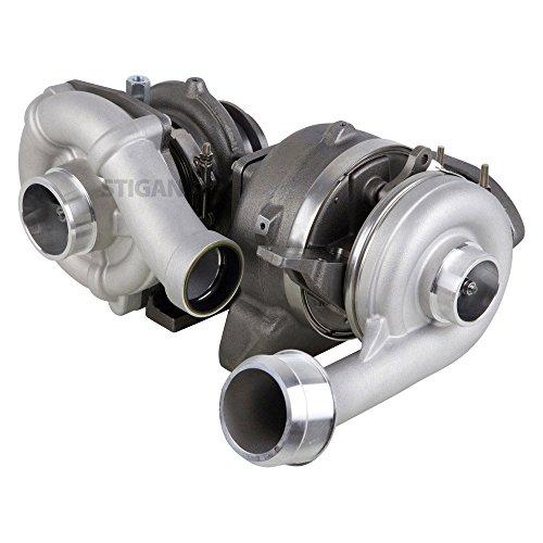 Stigan Compound Turbo Turbocharger For Ford F250 F350 F450 F-250 F-350 Super Duty 6.4L PowerStroke Diesel 2008 2009 2010 - Stigan 847-1468 New
