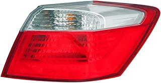 For 2013 2014 Honda Accord Sedan (Ex/Lx/Sport) Model Only Tail Light Taillamp Passenger Right Side Replacement HO2805101