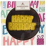 Niederegger Marzipan Törtchen 'Happy Birthday', Geschenkidee zum Geburtstag für Marzipan Liebhaber, 2er Pack (2 x 125 g)